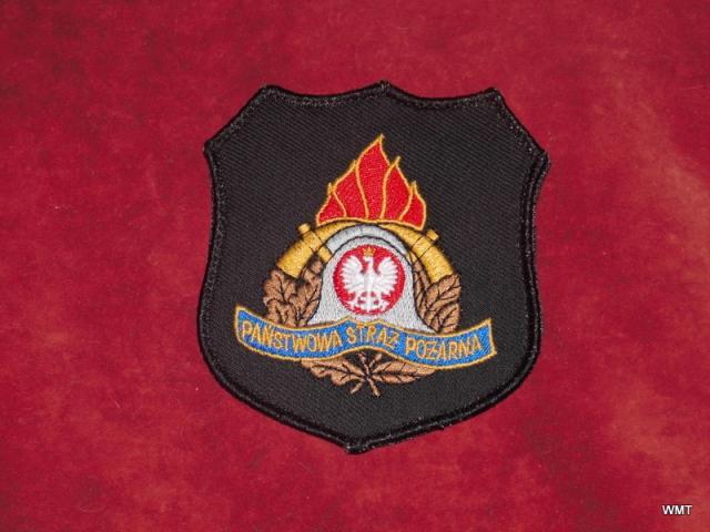 Emblemat - Państwowa Straż Pożarna