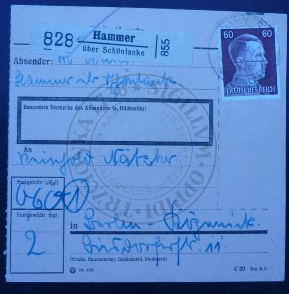 Pośrednictwo pocztowe Kuźnica Czarnkowska