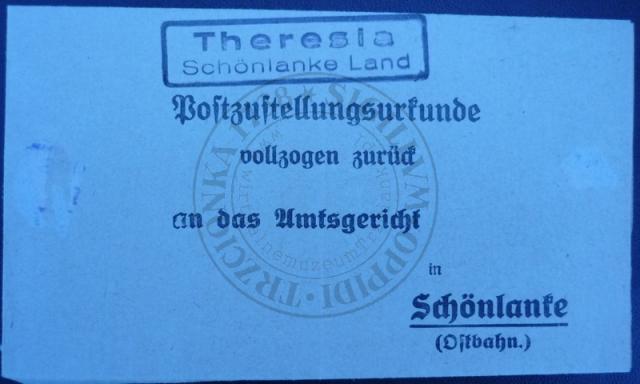 Pośrednictwo pocztowe Teresin.