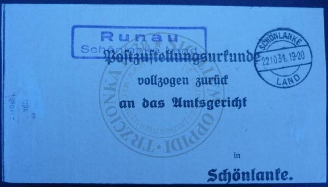 Pośrednictwo pocztowe Runowo