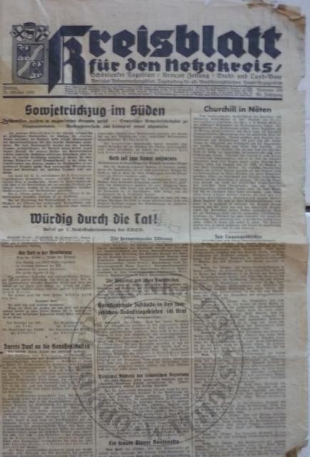 Gazeta 24.10.1941r.