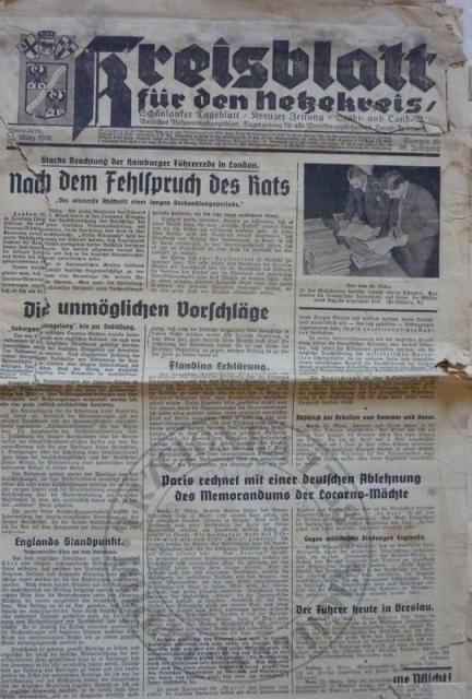 Gazeta 21.3.1936r.