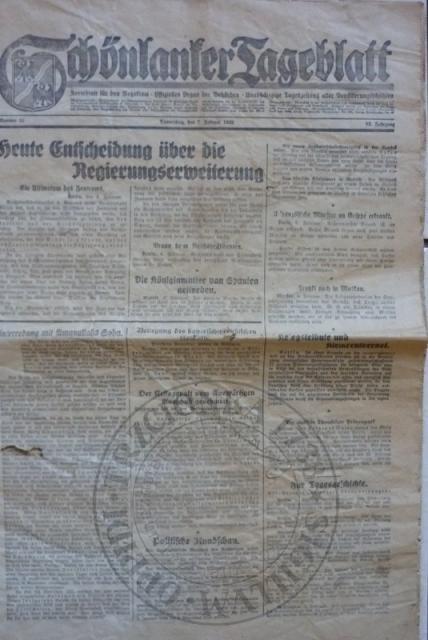 Gazeta 7.2.1929r.