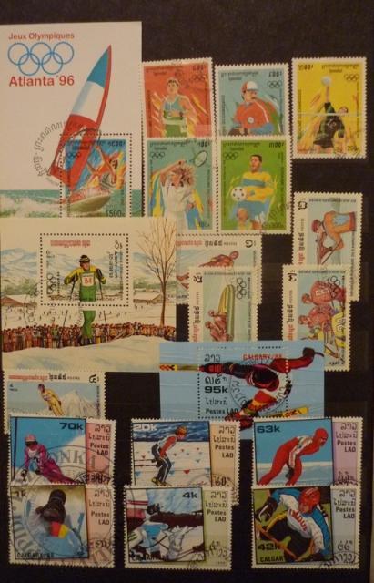 Znaczki pocztowe-Olimpiady
