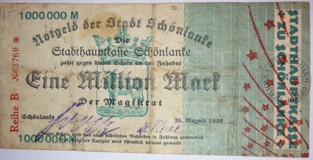 Banknot zastępczy Trzcianka
