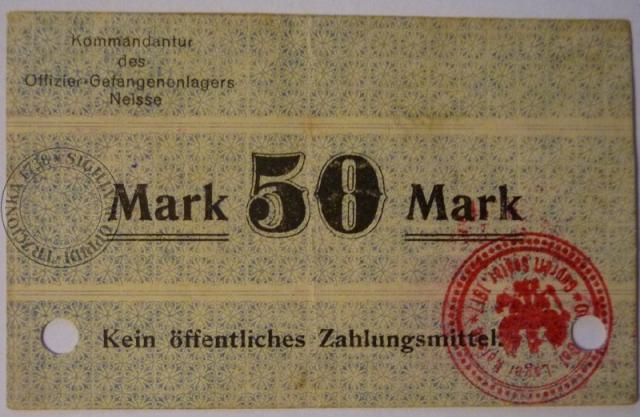Banknot obozowy