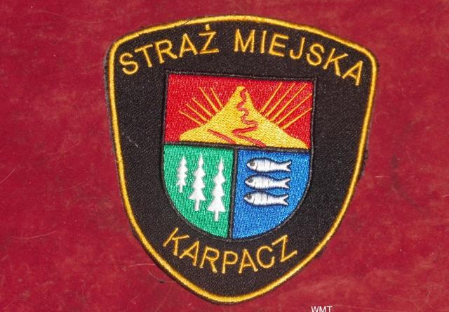 Naszywka Straży Miejskiej - Karpacz