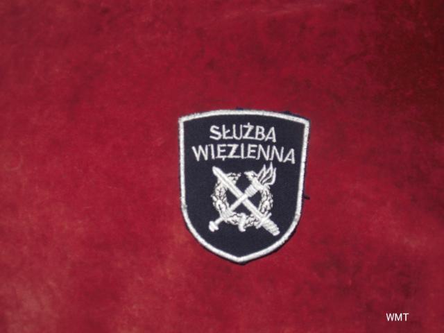 Emblemat - Służba Więzienna.