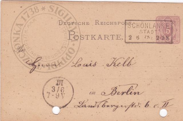 Pocztówka bezobrazkowa