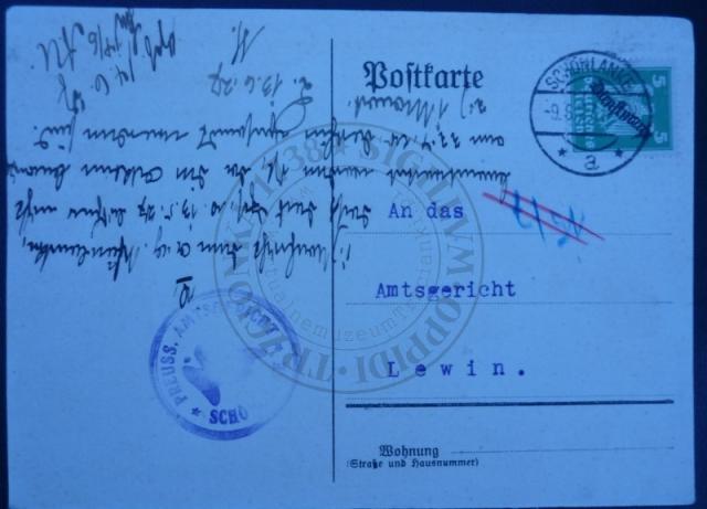 Dokument  z Sądu
