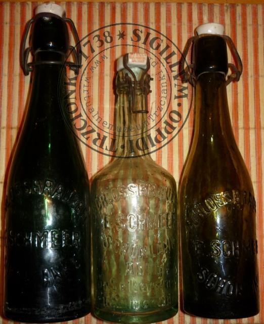 Butelki od piwa  Erwin Schmeer