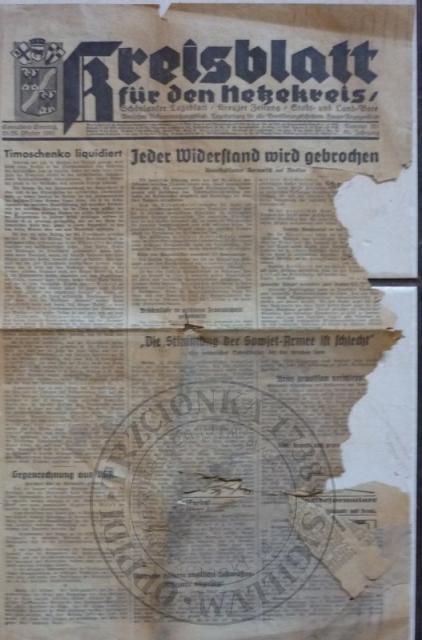 Gazeta 25/26 .10.1941r.