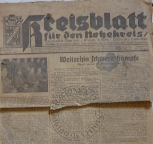 Gazeta 20.1.1944r.