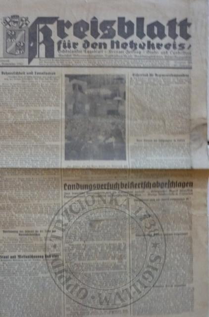 Gazeta 10.10.1943r.