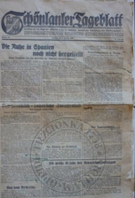 Gazeta 5.2.1929r.
