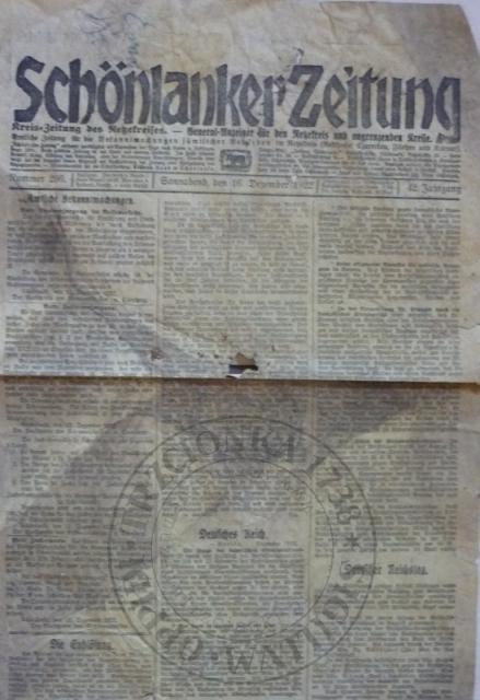 Gazeta 16.12.1922r.