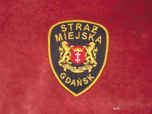 Naszywka Straży Miejskiej - Gdańsk