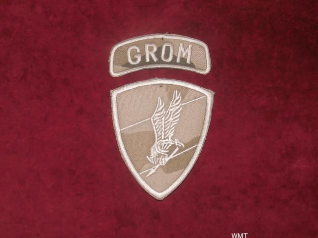 Naszywka - JW Grom