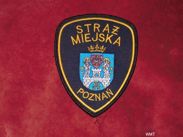 Naszywka Straży Miejskiej - Poznań